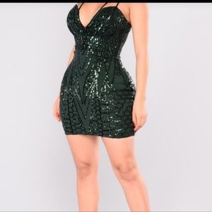 Brand new sequin party dress